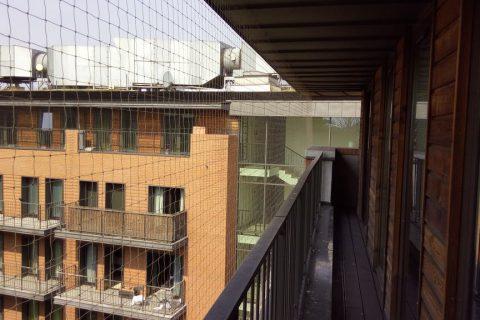 Siatka balkonowa – Warszawa, Angel City
