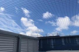 Montaż siatek nad centralami wentylacyjnymi – Warzszawa